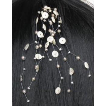 Epingle à cheveux mariage ivoire EP1003A