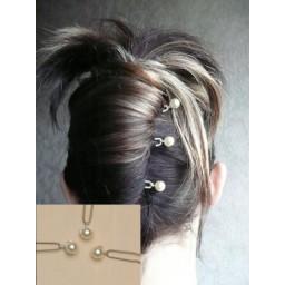 Epingles à cheveux mariage ivoire EP1006A