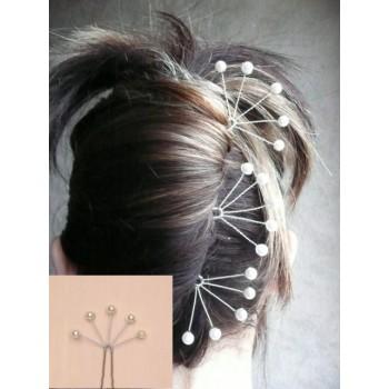 Epingle à cheveux mariage ivoire EP1010A