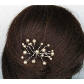 Epingle à cheveux mariage ivoire EP1029A