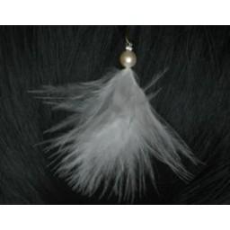 Epingle à cheveux mariage plume EP1173P