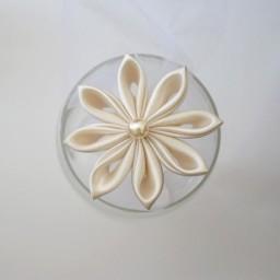 Epingle à cheveux fleur ivoire EP2000A