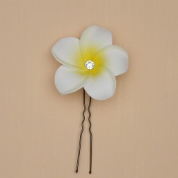 Epingle à cheveux fleur de tiaré EP363