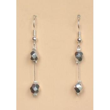 Boucles d oreilles argentées BO1199A