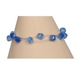 Bracelet fantaisie bleu BR1175A