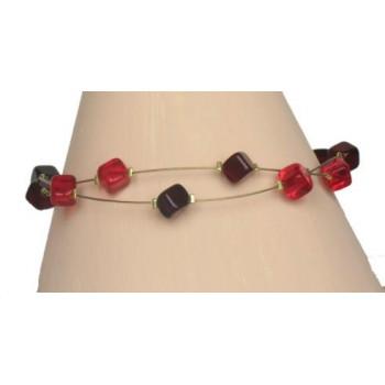 Bracelet fantaisie rouge BR1176A