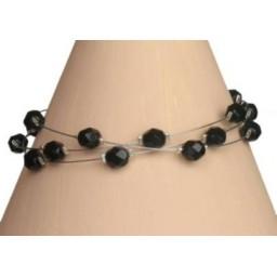 Bracelet fantaisie noir BR1186C