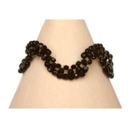 Bracelet fantaisie noir BR4243A