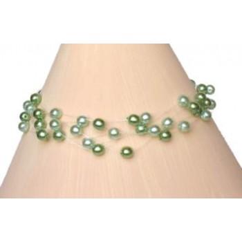 Bracelet perles vertes BR4257Z