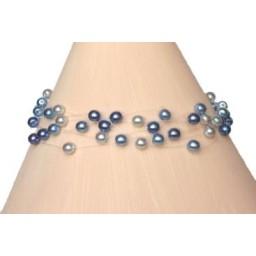 Bracelet perles bleues BR4258Z