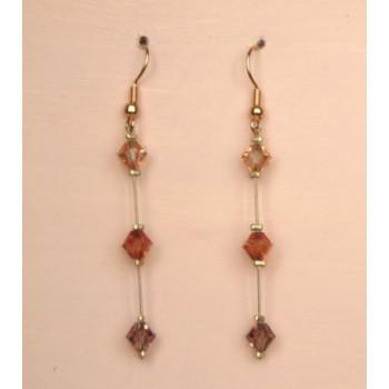 Boucles d oreilles cristal BO1209B