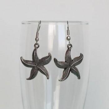 Boucles d'oreilles étoiles de mer BO333