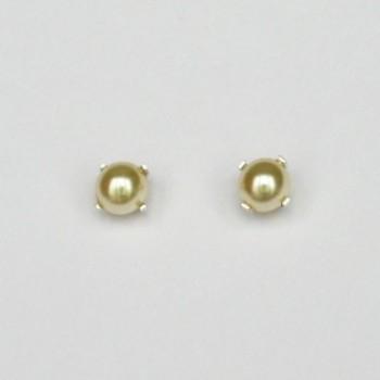 Boucles d'oreilles mariage ivoire BO6000