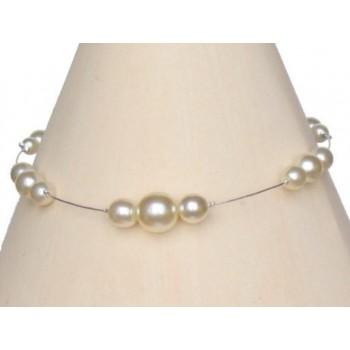 Bracelet mariage ivoire BR1143A