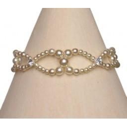 Bracelet perles ivoire BR4233Z