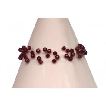 Bracelet cristal rouge BR4279A