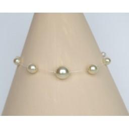 Bracelet mariage ivoire BR4280A