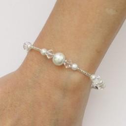 Bracelet mariage blanc cristal BR4288A
