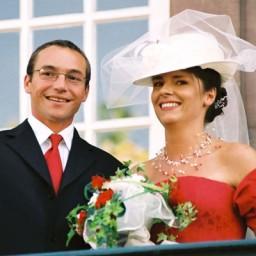 Bjoux de mariage d'Ariane et Jean-Jacques le 18-09-2004