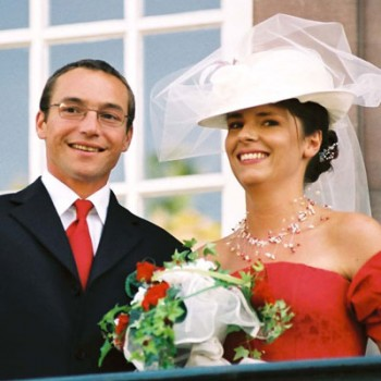 Bijoux de mariage d'Ariane et Jean-Jacques le 18-09-2004