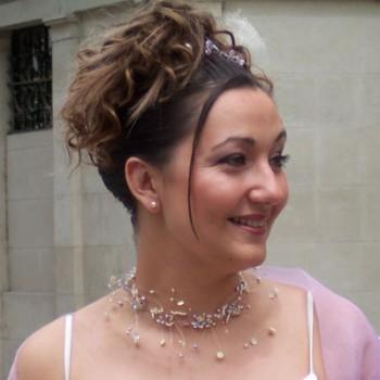 Bijoux de mariage de Stéphanie le 21-05-2005