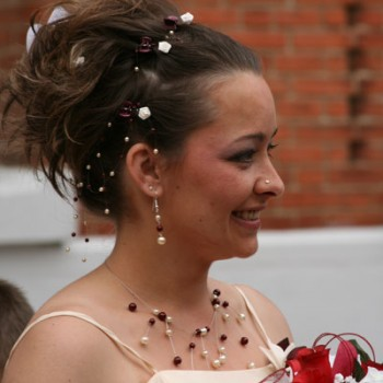 Bijoux de mariage de Martine le 12-05-2007