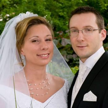 Bijoux de mariage d'Audrey et Nicolas le 24-05-2008