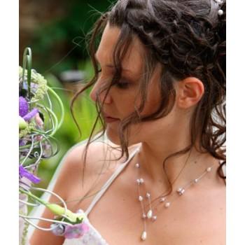 Bijoux de mariage d'Amélie le 07-06-2008