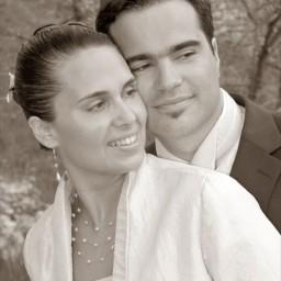 Bijoux de mariage d'Amandine et Guillaume le 11-04-2009