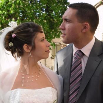 Mariage d'Emmanuelle et Sylvain le 18-04-2009