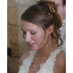 Bijoux de mariage d'Isabelle le 09-05-2009
