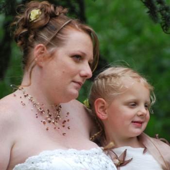 Bijoux de mariage de Mélanie le 16-05-2009