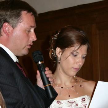 Bijoux de mariage de Sandrine et Didier le 13-06-2009