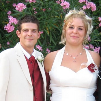 Bijoux de mariage de Julie et Sébastien le 11-07-2009