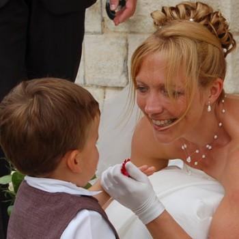 Bijoux de mariage de Dorothée le 13-07-2009