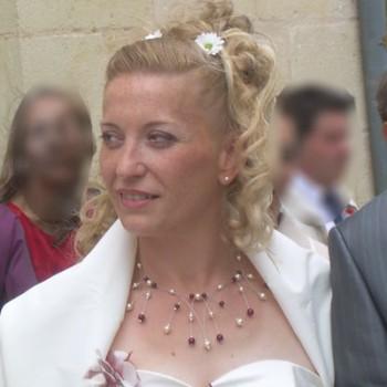 Bijoux de mariage de Karyne le 01-08-2009