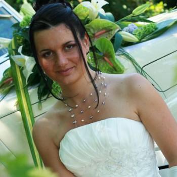 Mariage de Mathilde le 01-08-2009