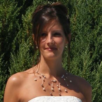 Bijoux de mariage de Stéphanie le 01-08-2009