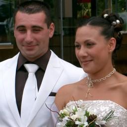 Bijoux de mariage de Mélanie et Cédric le 08-08-2009