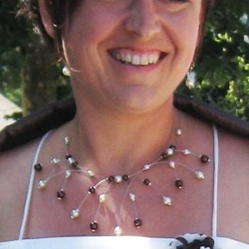 Bijoux de mariage de Céline le 22-08-2009