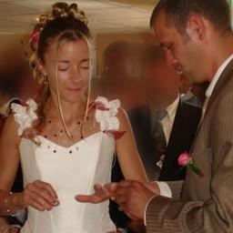 Bijoux de mariage de Laure et Raphaël le 22-08-2009
