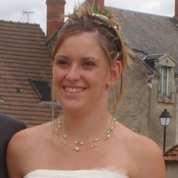 Bijoux de mariage de Julie le 05-09-2009