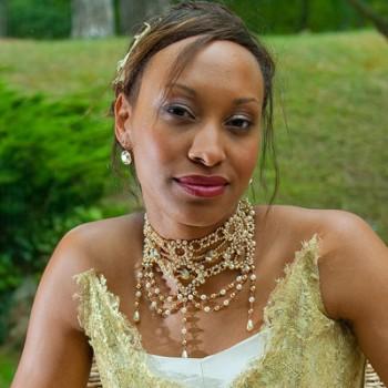 Bijoux de mariage de Célia le 12-09-2009