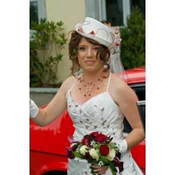 Bijoux de mariage de Laëtitia le 29-09-2009