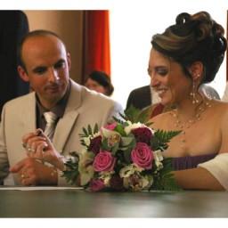 Bijoux de mariage de Magali et Julien le 05-06-2010