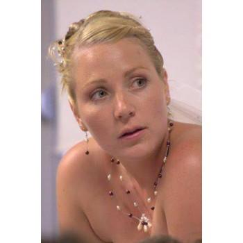 Bijoux de mariage d'Astrid le 19-06-2010