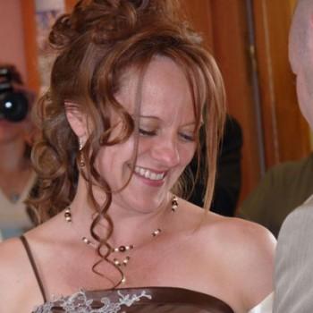 Bijoux de mariage de Renée le 19-06-2010