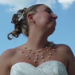 Bijoux de mariage d'Aurore le 26-06-2010