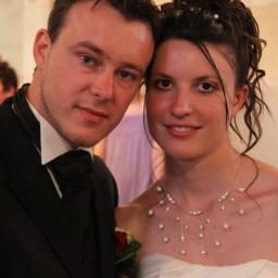 Bijoux de mariage d'Amandine et Sébastien le 03-07-2010