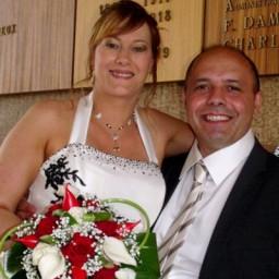 Bijoux de mariage de Lydie et Ambroise le 03-07-2010